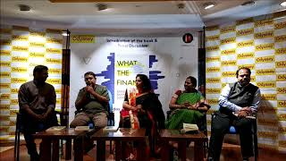 Launch of the book 'What the Finance' by Sangeeta Shankaran Sumesh at Odyssey store