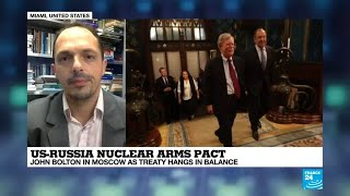 """US-Russia nuclear arms pact: """"A message to the arms industry in the US"""""""