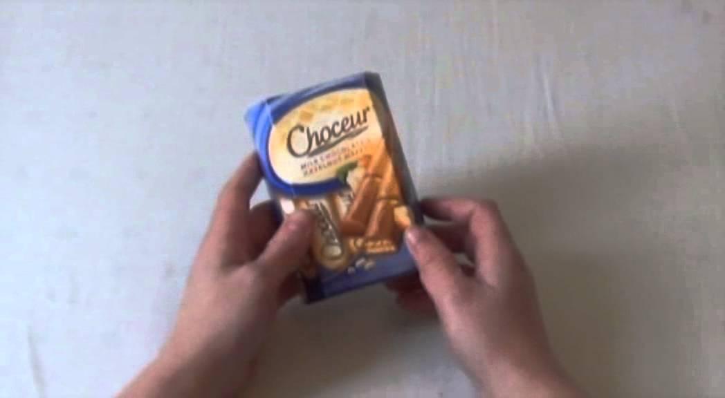 Choceur Milk Chocolate Hazelnut Wafers