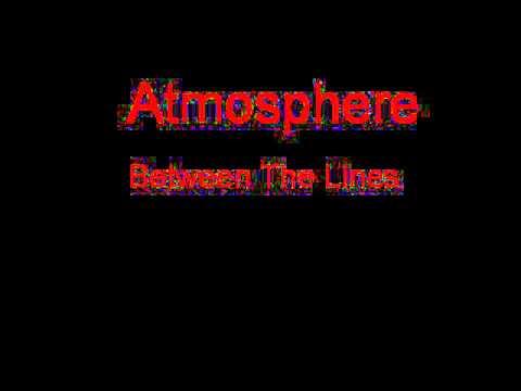 Atmosphere Between The Lines + Lyrics