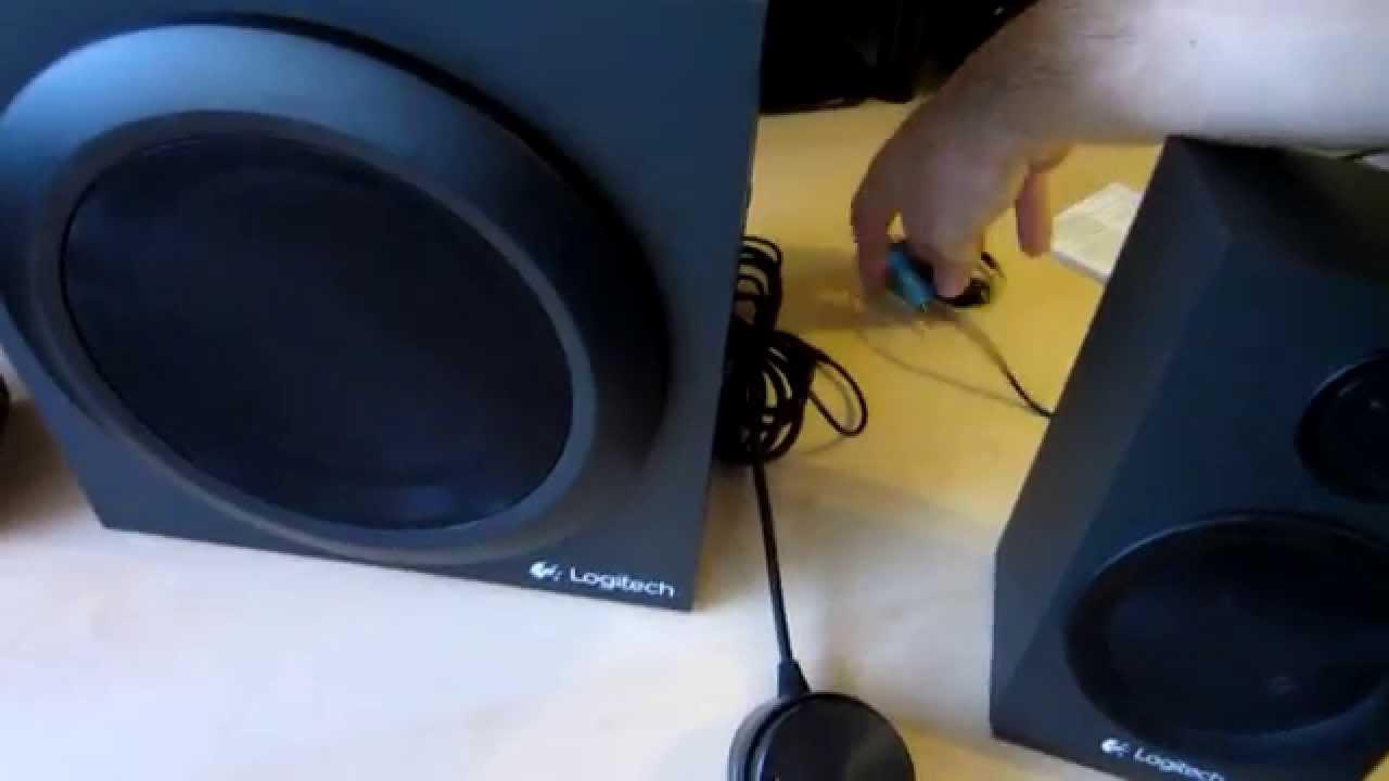 6f116ccc730 Unboxing: Logitech Z333 2.1 Speaker System - YouTube