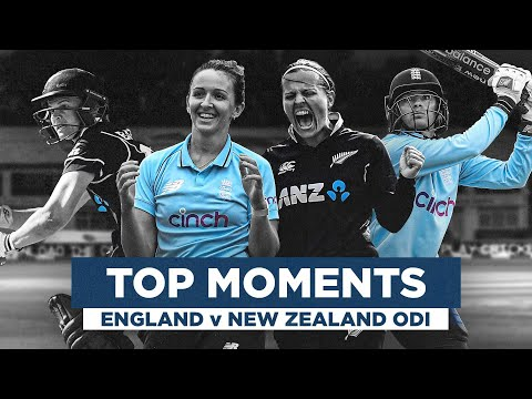 Jaw-Dropping Series!   England v New Zealand Moments   Women's Royal London ODIs 2021