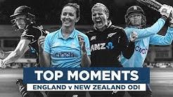 Jaw-Dropping Series England v New Zealand Moments Womens Royal London ODIs 2021