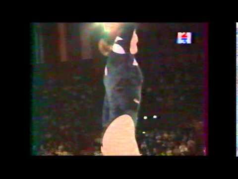Irina KARAVAEVA (RUS) trampoline - French internationals 1999