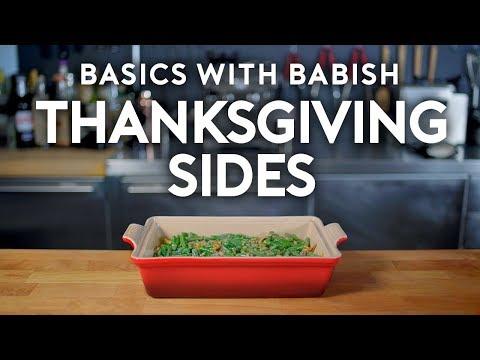 Thanksgiving Sides   Basics with Babish