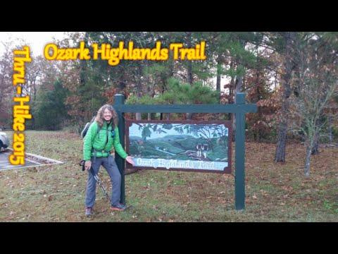 Ozark Highlands Trail - Thru-Hike 2015 - Day 1