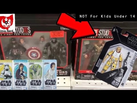 Toy Hunting for Star Wars Archive Series