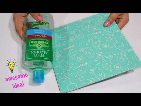 Awesome way to reuse  Alcohol Plastic Bottle and Cardboard| Best reuse idea
