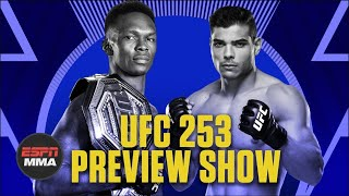 UFC 253 Preview Show | Ariel & The Bad Guy Live | ESPN MMA