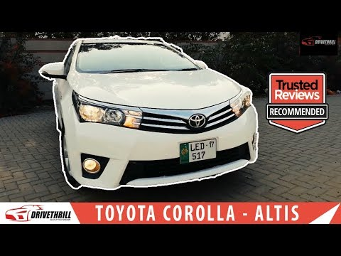 Toyota Corolla 2017 Review - Altis Grande - Price - Specs & Features