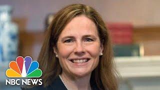 Live: Senate Democrats Speak After Boycotting Vote To Advance Amy Coney Barrett | NBC News