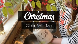 ULTIMATE CLEAN WITH ME || Christmas Edition || CLEANING MOTIVATION