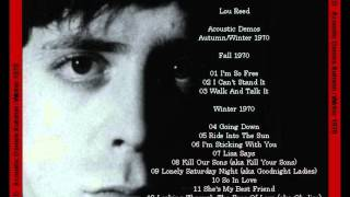 Lou Reed - 1970 Acoustic Demos