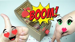 HOW TO MAKE SURPRISE BOX FOR VALENTINE S DAY MAD HANDMADE