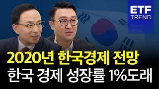 2020년 한국경제 전망, 한국경제 성장률 1% 도래 [2020년 특집 대담, 투자의미래]