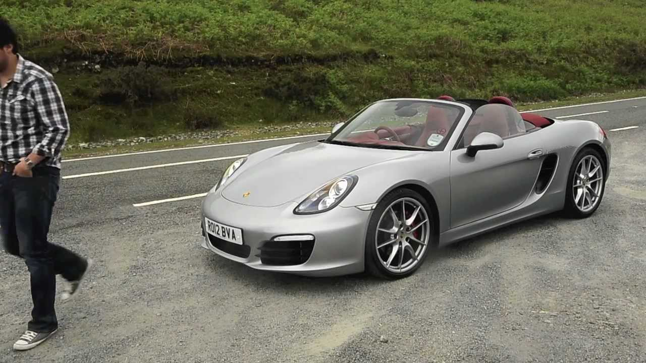Hj Road Test Porsche Boxster S 2012 Youtube
