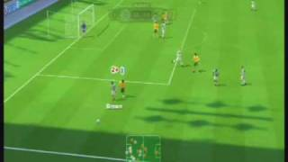 FIFA 10 Wii Gameplay