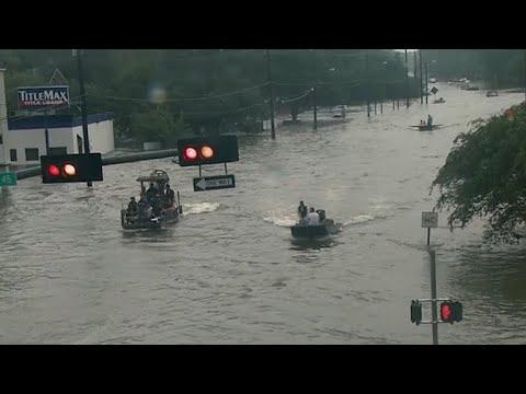 Video: Boat rescues underway in Dickinson, TX
