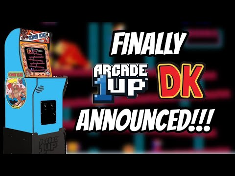 Donkey Kong Officially Announced For Arcade1up... Finally!!! from Show-Me Retro