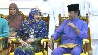 Highlights Sanding Azat & Hafiyyah Royal Familly Sultan Brunei