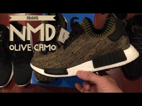 Adidas NMD Real V Fake NMD_R1 Pk Primeknit Comparison