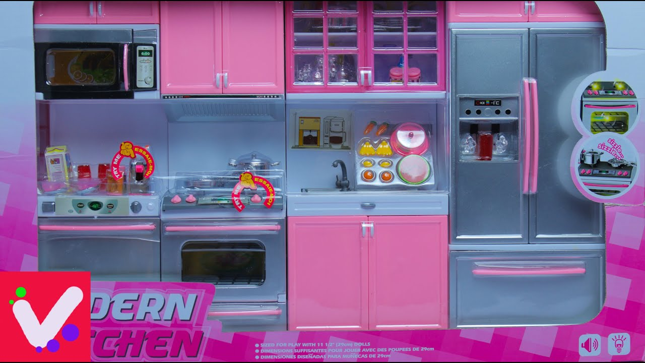 Modern Kitchen Barbie | Swing Kitchen