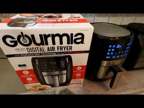 gourmia-6-quart-digital-air-fryer-costco-2020-new-model-unboxing-review-gaf698-空气炸锅