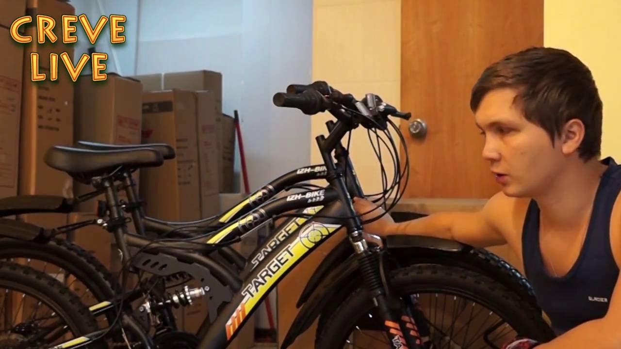 Обзор велосипеда Иж-Байк TARGET (2016)