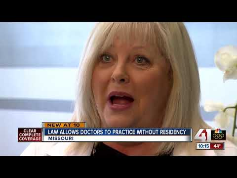 MO allows doctors to practice without residency