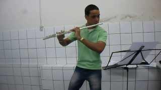 Jade-Trois Pièces Pour flûte seule (Pierre Octave Ferroud) Djalma Claudino-Flute