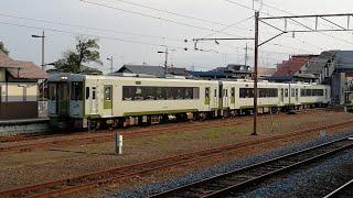 【JR東日本】八高線キハ110系(キハ110+111+112) 寄居駅発車
