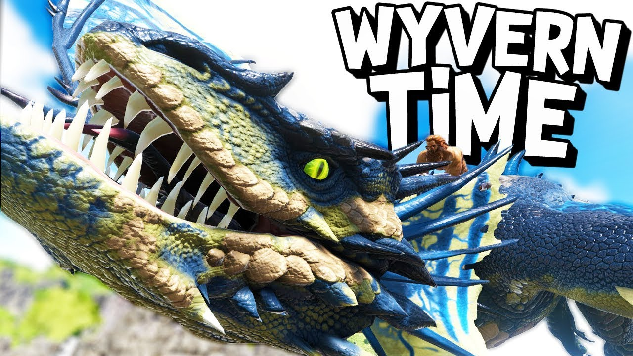 ARK Survival Evolved Ep 24 HOW TO TAME A WYVERN Modded Survival YouTube