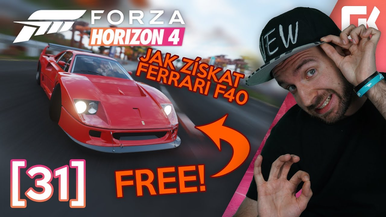 JAK ZÍSKAT FERRARI F40 ZDARMA?   Forza Horizon 4 #31