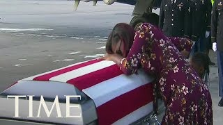 See The Heartbreaking Moment Sgt. La David T. Johnson's Widow Received His Remains | TIME