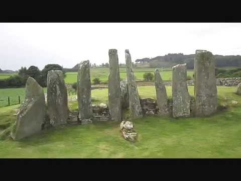 Cairnholy I - 5000 Jahre alte Megalithanlage in Südwest-Schottland