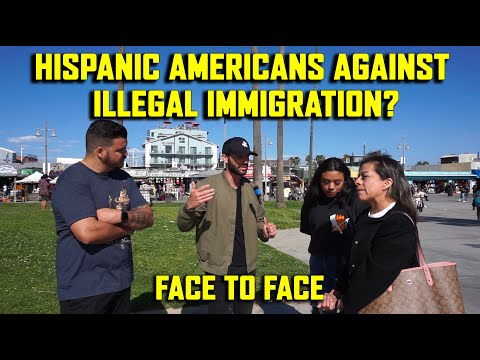 Hispanic Americans Against Illegal Immigration?   Face To Face feat. @Informed with Anthony