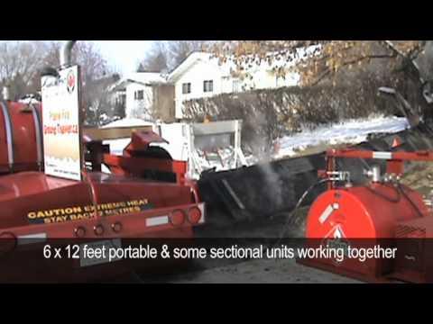 Prairie Fire Ground Thawer Youtube