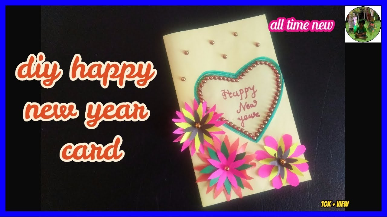 new best happy new year card at home with all time new