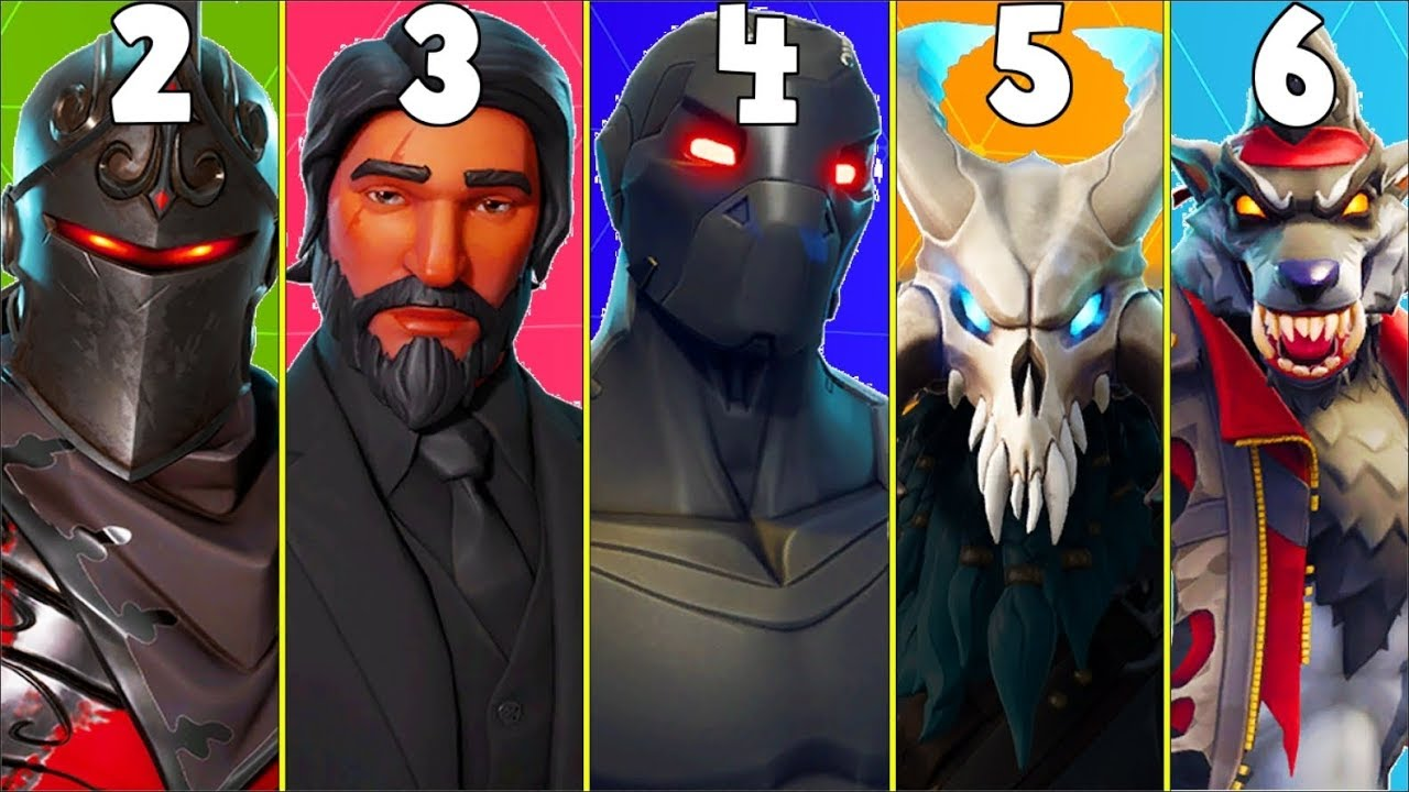 RANKING EVERY BATTLE PASS SKIN FROM WORST TO BEST! (Season ...