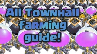 Clash of Clans | TH 7,8,9 farming guide | Clash BArching tutorial