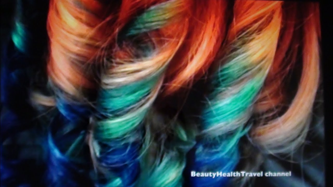 Hair Color Bird Of Paradise Red Orange Blue Yellow