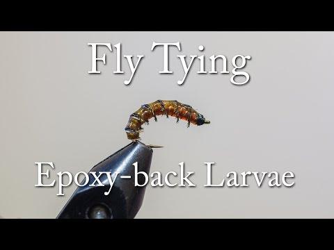 Fly Tying - Epoxy-back larvae