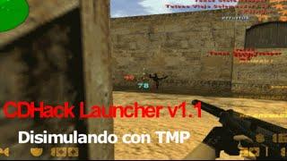 Counter-Strike 1.6 CDHack Disimulando con TMP