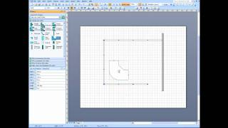 Visio Office Cubicle Layout Part 1