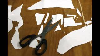 Paper cut stopmotion animation
