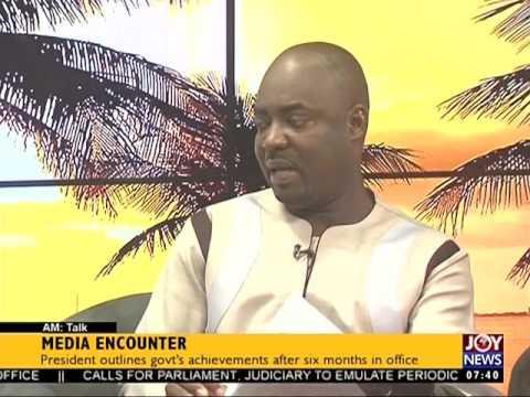 Assessing President's Media Encounter - AM Talk on Joy News (19-7-17)
