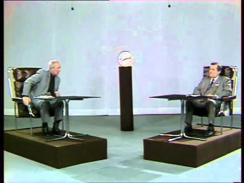 Alfred Miodowicz Debata telewizyjna Lech Wasa Alfred Miodowicz 30 listopada