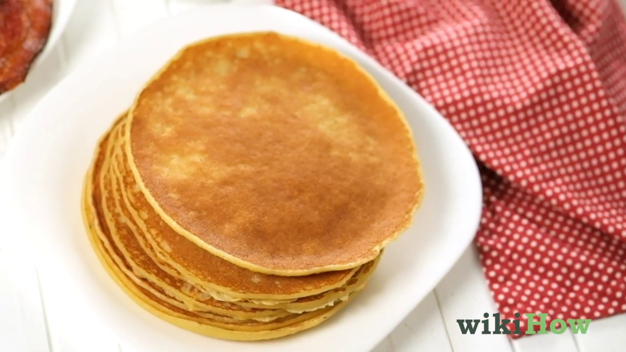 Ricetta Pancake Wikihow.How To Make Pancake Batter 10 Steps With Pictures Wikihow