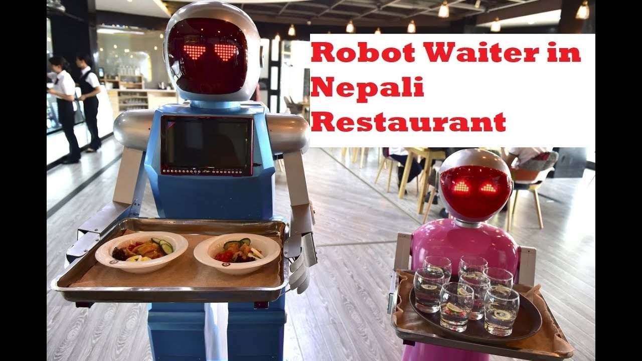 Картинки по запросу робот кафе в непал