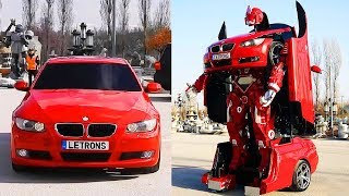 BMW Car Turns Into A Real Life TRANSFORMER!